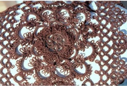 Estola Crochet Floral