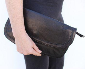 Bolso de cartera 100% natural y suave piel de cordero,Esther